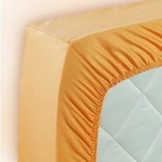 Glossy nylon wet look bedding fitted sheet 1052BL