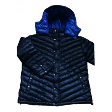 Glossy nylon wet look winter jacket down jacket M - 3XL 1070DJ