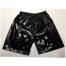 Shiny nylon wet look shorts short pants 1072SP