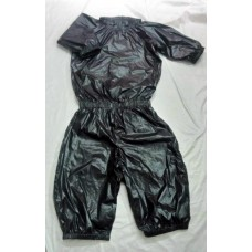 Uisex glossy nylon wet look romper rompers S - 3XL 1066RP