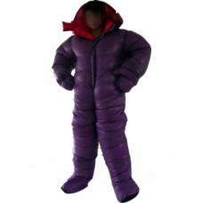 Unisex glossy nylon down suit down jumpsuit winter suit winter jumpsuit 1050DA-D
