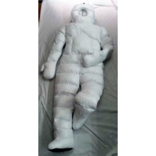 Unisex glossy nylon winter suit winter jumpsuit 1069WS